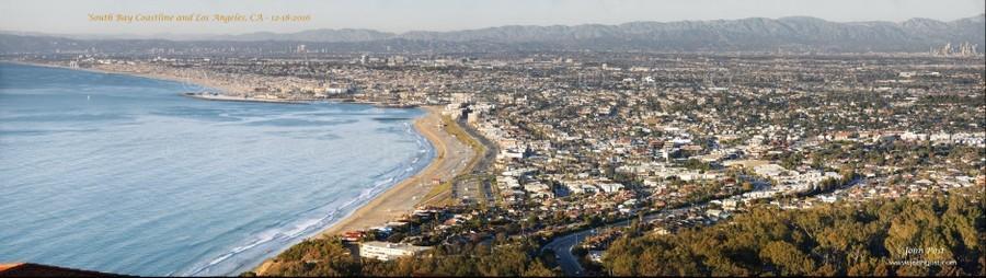 South Bay Coastline Redondo Hermosa Manhattan Beach And Los Angeles California
